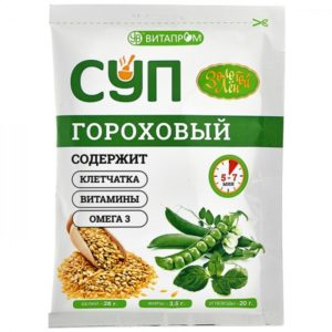 Каша льняная «Эльфа» ПЕРСИК 400 гр.