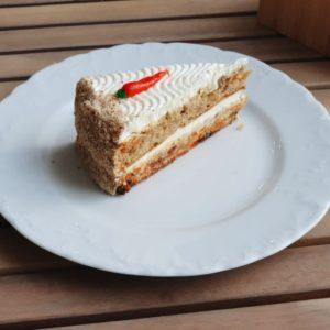 Торт Морковный бисквитный 100 г